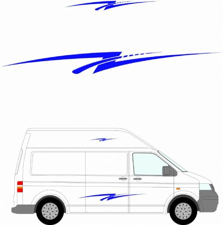 (No.290) MOTORHOME GRAPHICS STICKERS DECALS CAMPER VAN CARAVAN UNIVERSAL FITTING